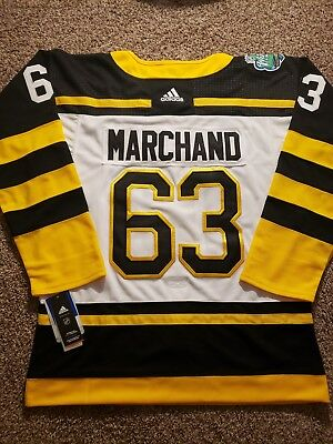 2d1edd556 63 BRAD MARCHAND Boston Bruins 2019 Winter Classic Jersey -  79.99 ...