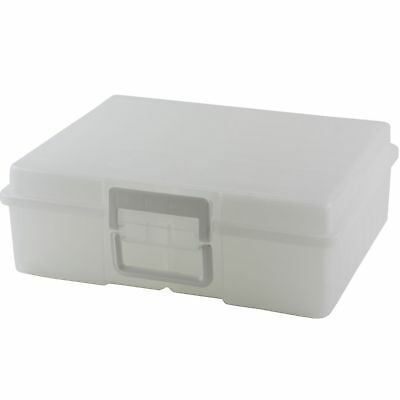 Iris Extra Large Photo Storage Craft Keeper 16 4x6 Cases Made In