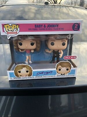 Dirty Dancing Baby & Johnny 2 Pack Funko Pop Figure Target Exclusive