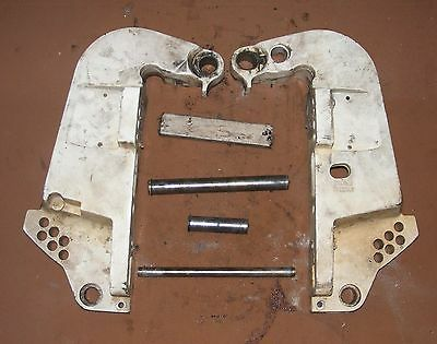 BF4A4442 1993 Johnson 70 HP VJ70TLETS Stern Brackets PN 0335489 Fits 1991-2012+