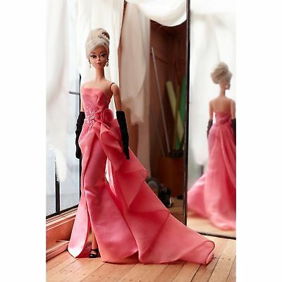 Glam Gown Silkstone Barbie - NRFB  - Mint - BFC Exclusive