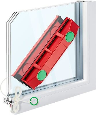 The Glider D-3, Magnetic Window Cleaner for Double Glazed Windows up to 28 mm th