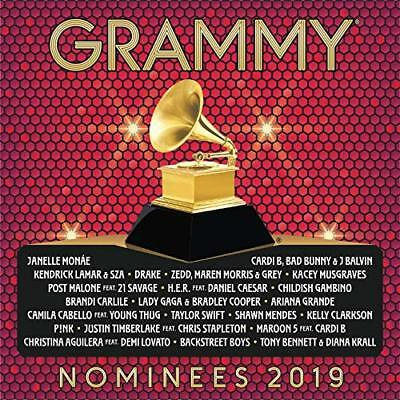 2019 GRAMMY Nominees Audio CD NEW FREE SHIPPING