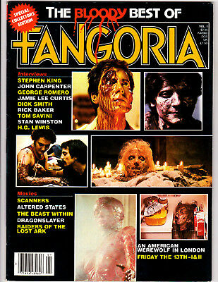 THE BLOODY BEST OF FANGORIA #1 (1982) Very Fine/Near Mint, NICE!