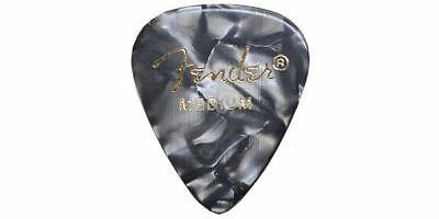 NEW FENDER /351 Shape Premium Celluloid Black Moto Medium GUITAR PICKS F/S