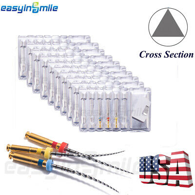 10X W-XOne Gold X-One Assorted Endodontic File Root Canal 25MM #25EASYINSMILE