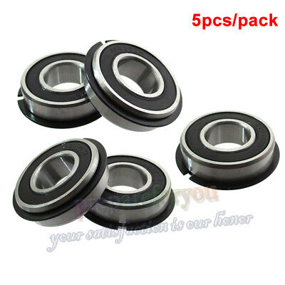 "5/8""x1-3/8""x0.433"" 499502H 99502H-2RSNR Ball Bearing With Rubber Seals Snap Ring"