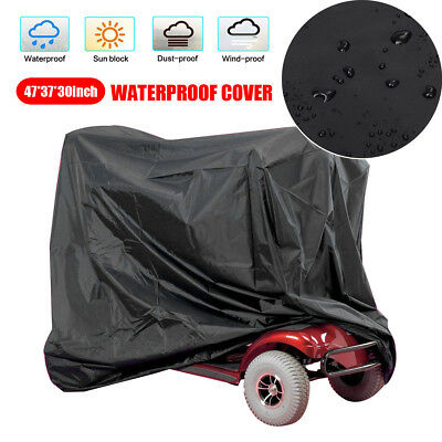 120*95*75cm Mobility Scooter Wheelchair Waterproof Cover UV Rain Protector