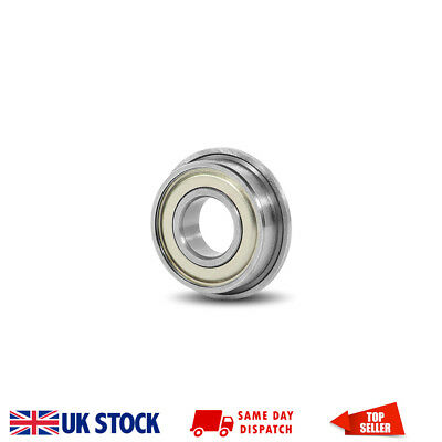 MF84ZZ Metal Shielded Deep Groove Flanged Ball Bearing 4x8x3mm