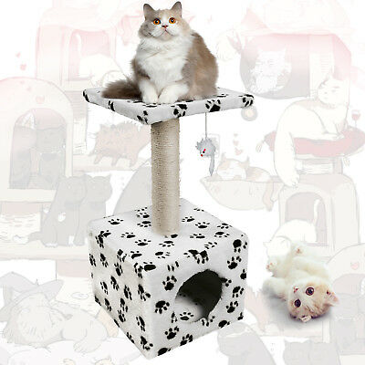 Cat Scratching Tree Climbing Toy Exercise Nap Condo Sisal Post Activity Centre