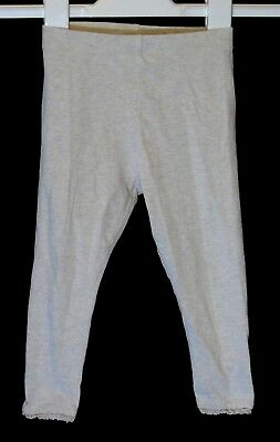 Baby Girls Next Plain Oatmeal Beige Comfy Stretch Leggings Age 18-24 Months
