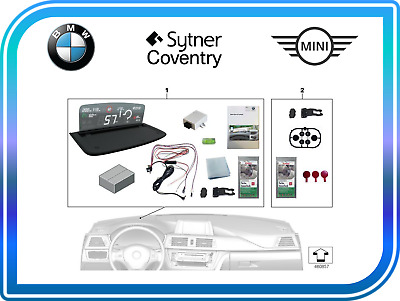 BMW Genuine Retrofit Installation Kit for Head Up Display Screen