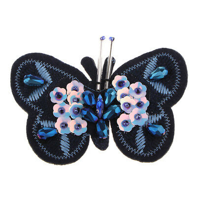 Sequin Embroidery Butterfly Patch Clothes Embellishments Fashion Applique