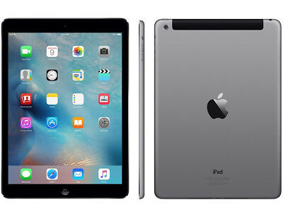 Apple iPad Air WiFi-Cellular - A1475 Tablet 32GB Grau