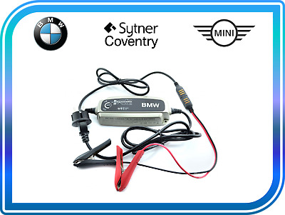 Genuine BMW MINI Motorcycle Battery Conditioner Trickle Charger UK 61432408593