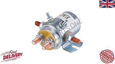 Universal 12V 6 Terminal M8 Changeover Solenoid 80A 150A Winch New Quality