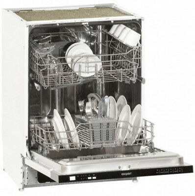 Exquisit 610111 EGSP13.1E dishwasher Fully built-in 12 place settings A+ Einbau