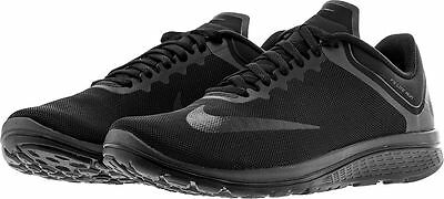 competitive price 9f385 0d627 NIKE FS LITE Run 4 Mens 852435-003 Black Anthracite Running Shoes Size 13