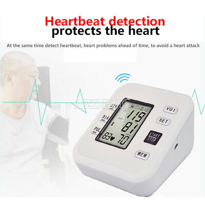Automatic Wrist Blood Pressure Monitor LCD Digital Display Screen With Voice