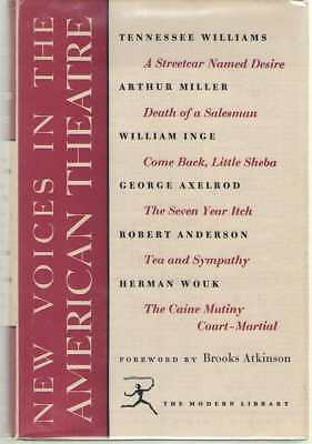 New Voices in American Theatre - Modern Library 258.3 Hardback Dust Jacket