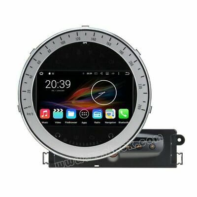 "AUTORADIO 7"" Android 8 OctaCore 32GB Wifi Mini Cooper GPS Navigatore Mp3 Mp4 DVD"