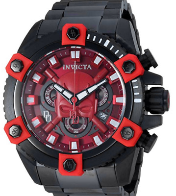 Invicta Marvel Grand Octane Dare Devil Limited Swiss Chronograph Watch 27167