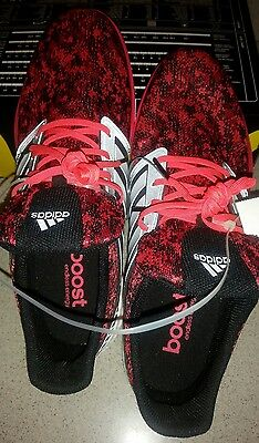 outlet store 96cec 4dc12 Adidas Ultra Boost Solar RNR Red Athletic Shoe Lifestyle Running Sneakers  Sz 12