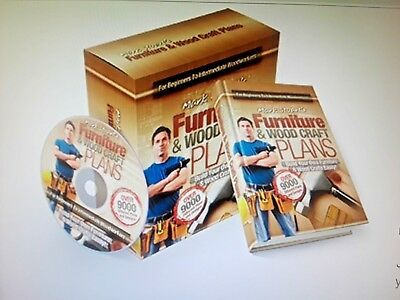Furniture and Wood Handcraft Plans: Build Your Own Furniture & Wood Craft Easily