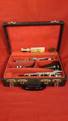 Vintage Boosey & Hawkes 77 Clarinet W/926 mouth piece