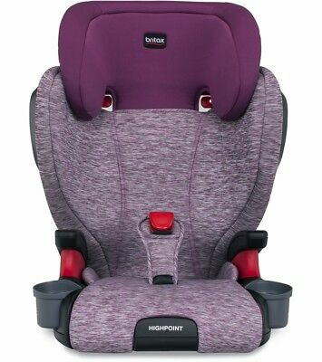 Britax Highpoint Booster Car Seat in Mulberry Brand New !! Free Shipping !!
