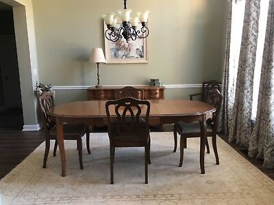 antique french provincial dining furniture