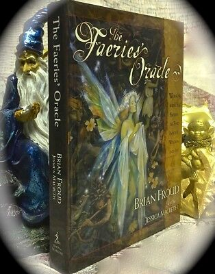 Brian Froud: The Fairies' Oracle Hc **book Only, No Cards** Tarot Occult Magick