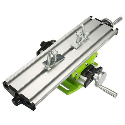 Bench Worktable Milling Machine Vise Compound Cross Table Drill Mini Precision
