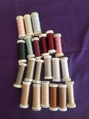 Sulky Rayon Machine Embroidery Thread 225 meters  21 spools