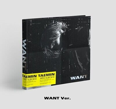 Shinee Taemin-[Want] 2nd Mini Album Want Ver CD+Booklet+Card+Paper Stand+Gift
