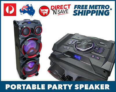 Portable Entertainment Party Speaker Bluetooth All-in-1 Karaoke System LG-103