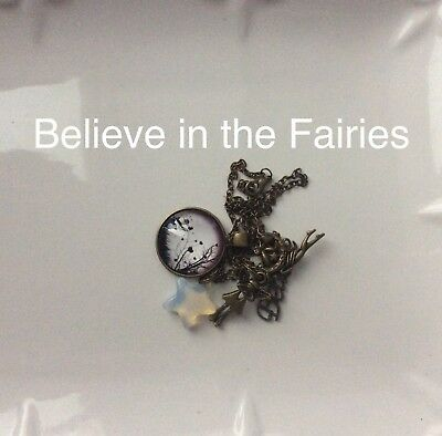 Code 422 Believe In Fairies Infuse Necklace Fairyologist cert by Doreen Virtue