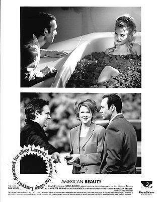 Lot of 4, Kevin Spacey, Annette Bening stills AMERICAN BEAUTY (1999) Mena Suvari