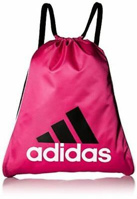 34b0e365fb Agron Inc (adidas Bag) 5136443 adidas Burst Sackpackx 14.25-in Pink and  Black