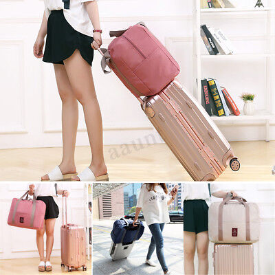 Large Portable Foldable Travel Storage Luggage Carry-on Hand Shoulder Duffle Bag