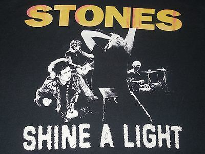 8ab96ecec0 Rolling Stones Shine A Light Live Concert New York City Stadium T-Shirt  Adult M