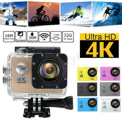 4K SJ9000 HD 1080P Wifi Waterproof Ultra Sport Action Camera Camcorder DVR Full