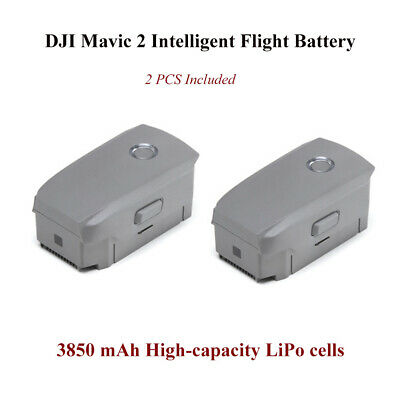 AU DJI Mavic 2 Intelligent Flight Battery,3850mAh for Pro&Zoom (2PCS Included)