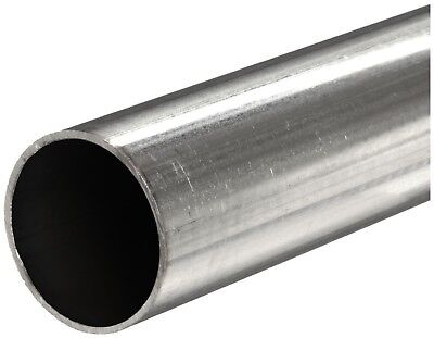 "304 Stainless Steel Welded Round Tube,  OD: 2.250"", Wall: 0.065"", Length: 60"""