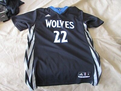 0a8b0448fbae Andrew Wiggins Minnesota Timberwolves Adidas YOUTH Jersey Swingman size  Medium