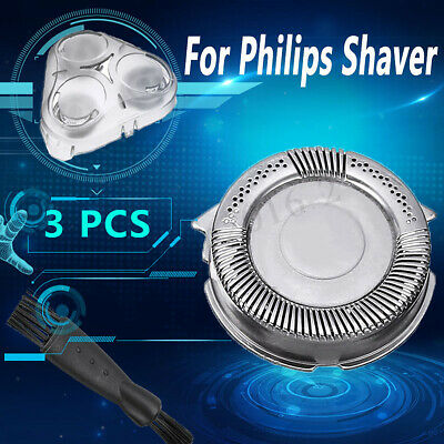 3Pcs Shaver Head Blades & Cover Brush For Philips Norelco 5000 SH50/51/52 HQ8