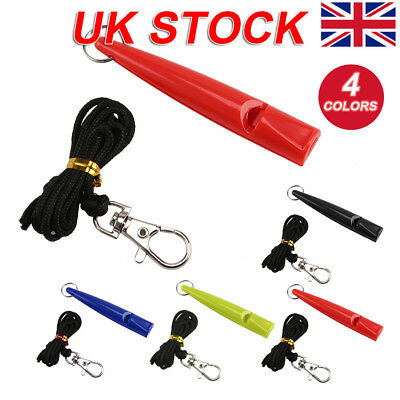 New Convenient And Practical Plastic Dog Training Whistle Various Colors UK
