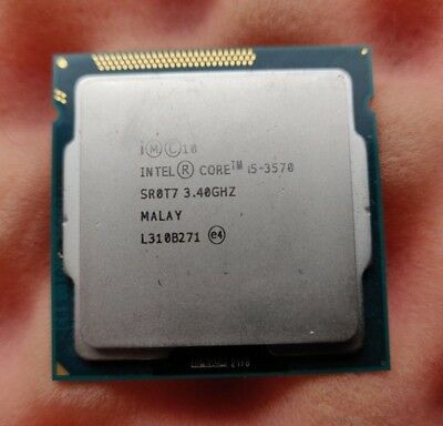 Intel Quad Core i5 3570 - 3.4GHz (up to 3.8GHz) 5GT/s Socket LGA1155 SR0T7