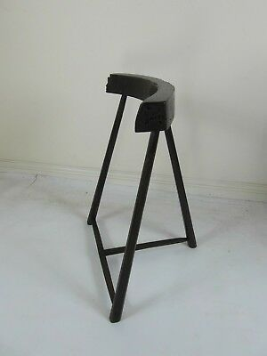 Antique rare early 19th century provincial woodturners / woodturning stool