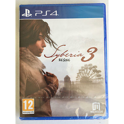 Syberia 3 (PS4) New and Sealed